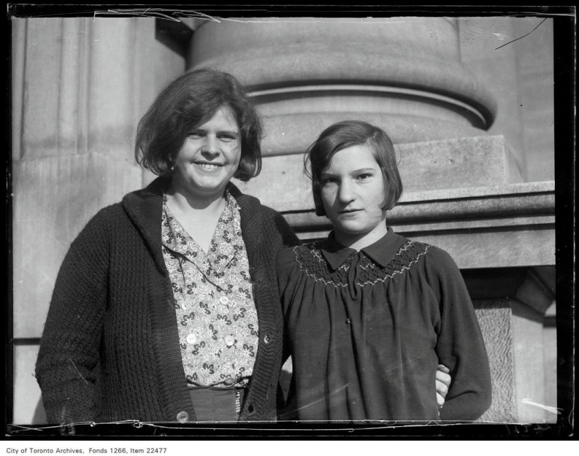 Riverdale Collegiate [commencement portraits], Flora Christie, Elsie Cochrane.