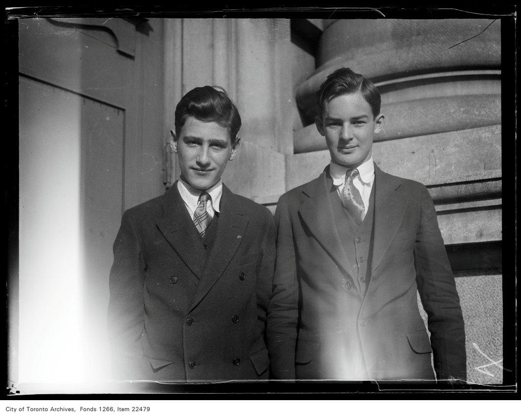 Riverdale Collegiate [commencement portraits], Gillies Hunter, James Lavery.