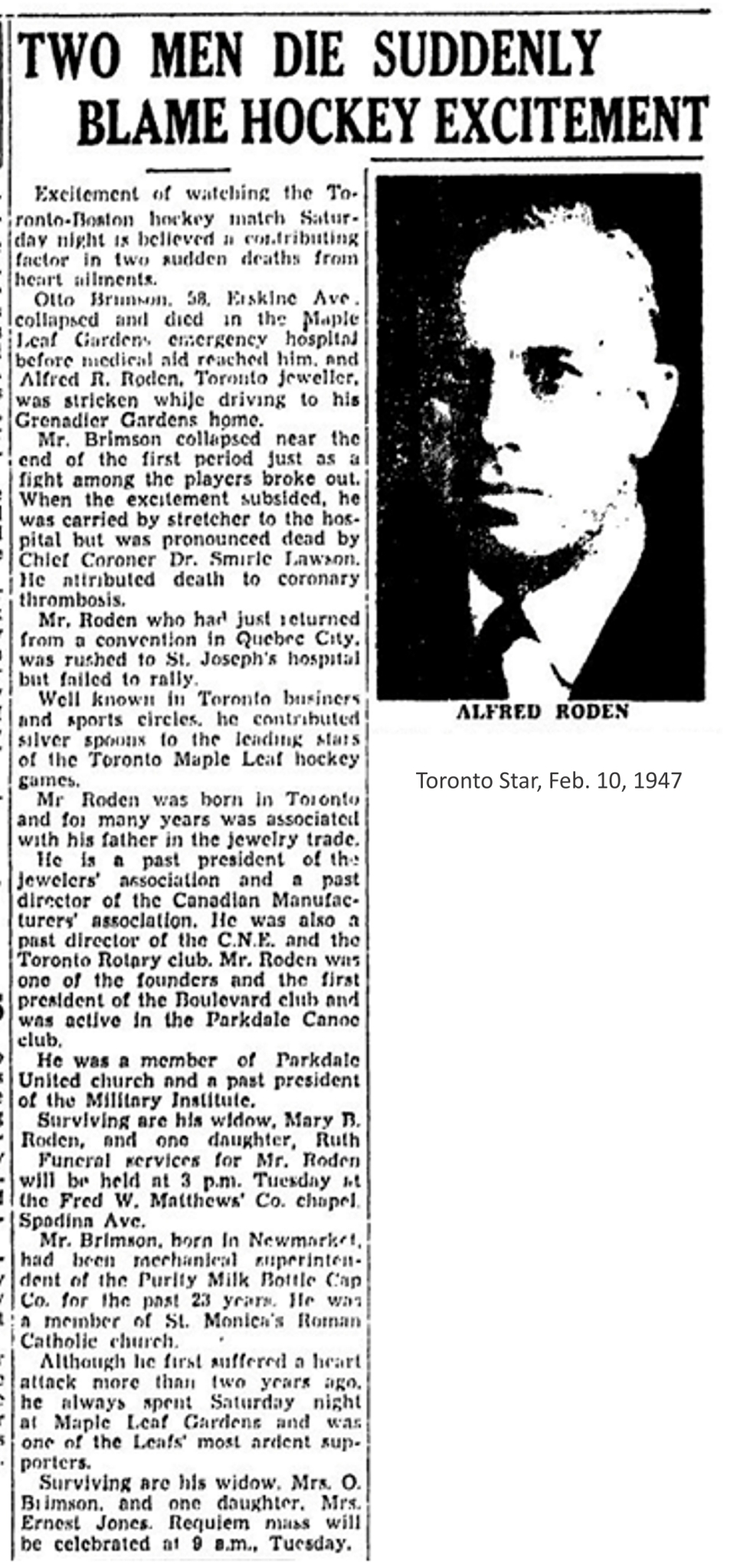 toronto-star-feb-10-1947-obit