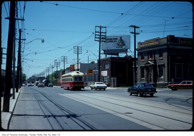 View of Kingston Road at Queen Street East