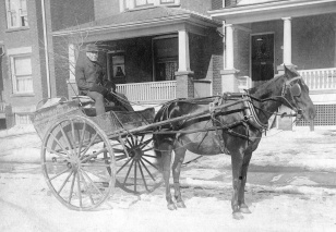 Gerrard Street East Delivery Wagon, 1908, Toronto Public Library