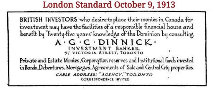 16 dinnick british business card leslieville historical society 16 dinnick british business card reheart Images