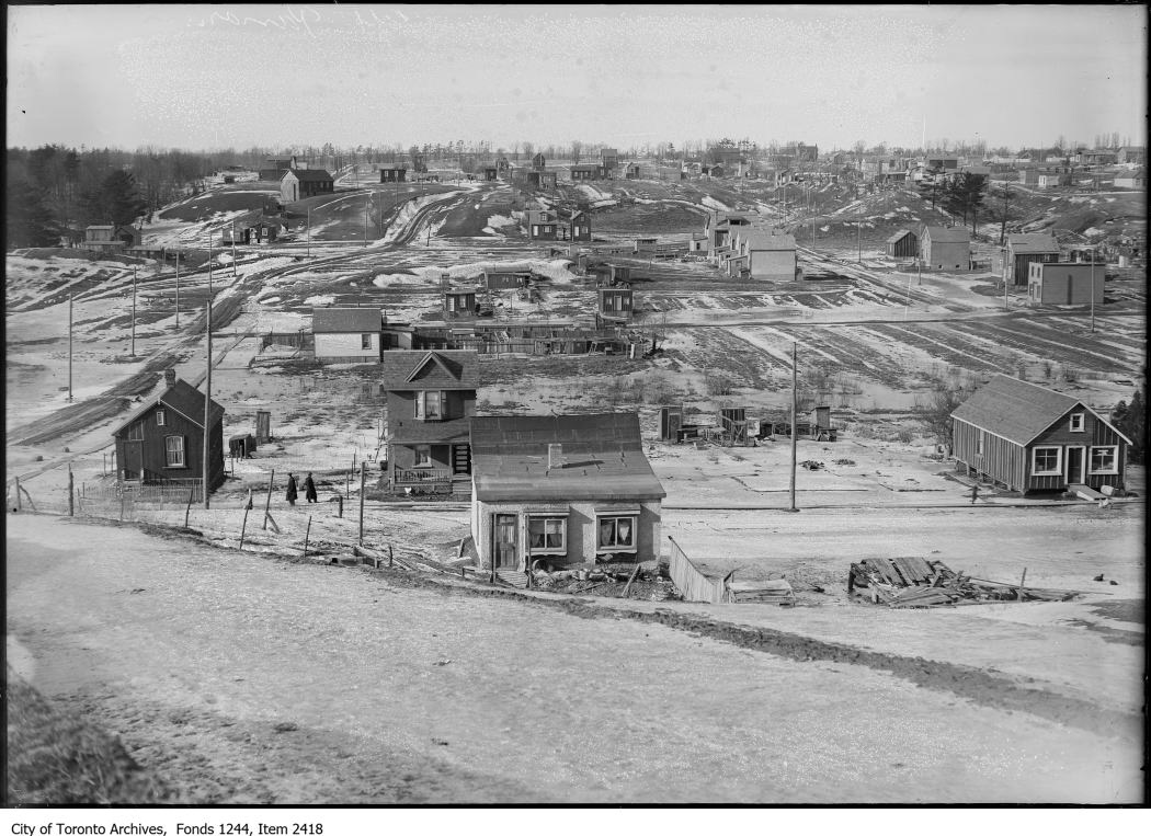 Fairbank area, York Township. - [ca. 1911]