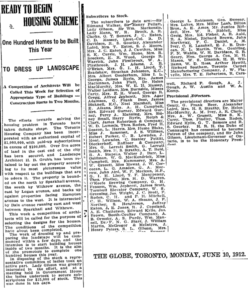 globe-june-12-1912-toronto-housing-company