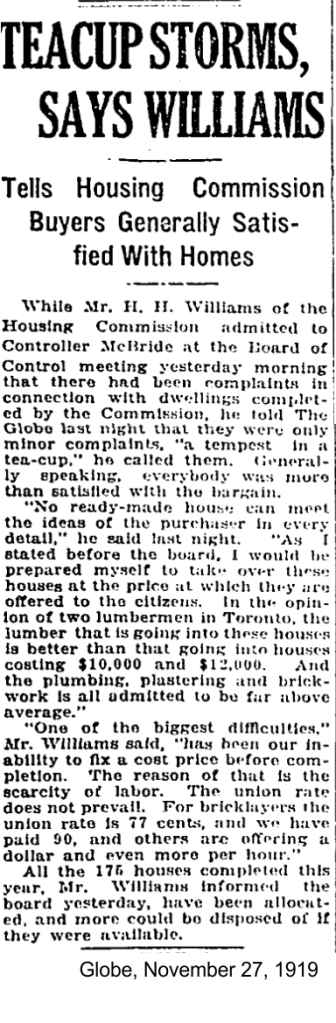 globe-november-27-1919-toronto-housing-commission