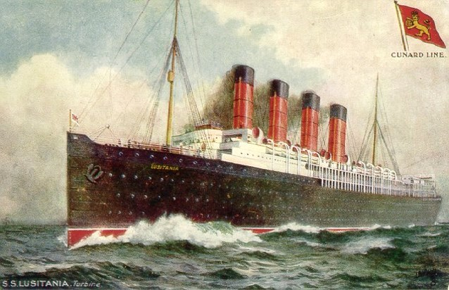 12 Postcard Atlantic Record