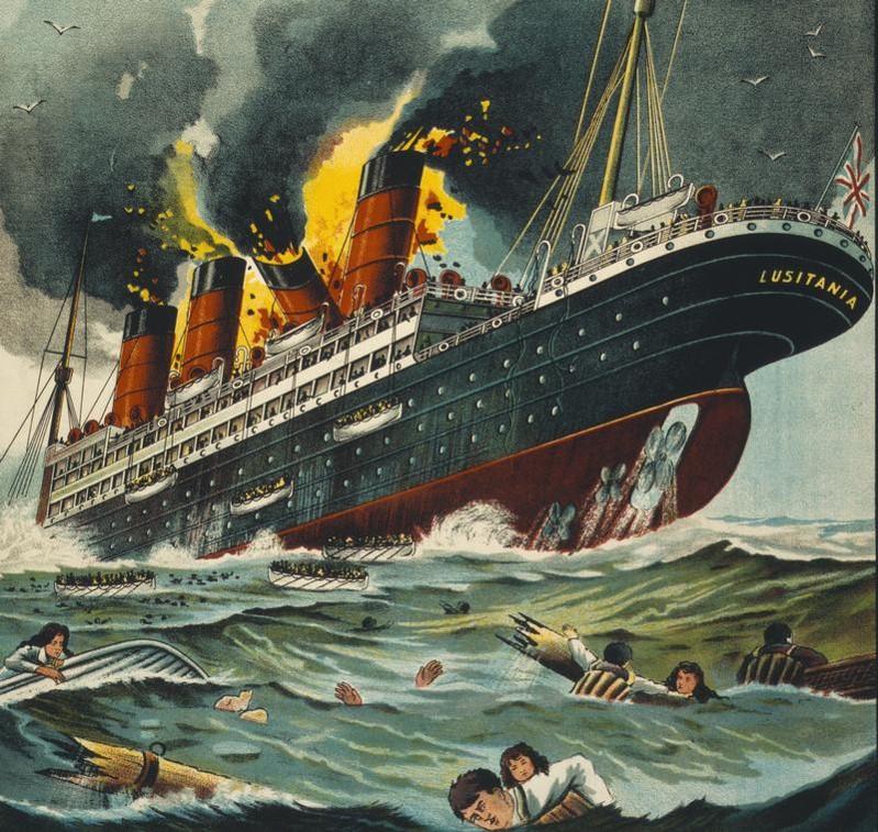 12 Sinking ship