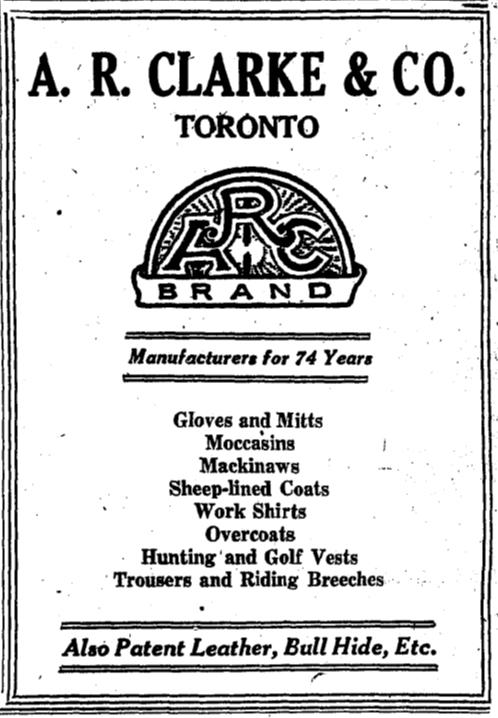 19260510GL A R Clarke ad - Copy