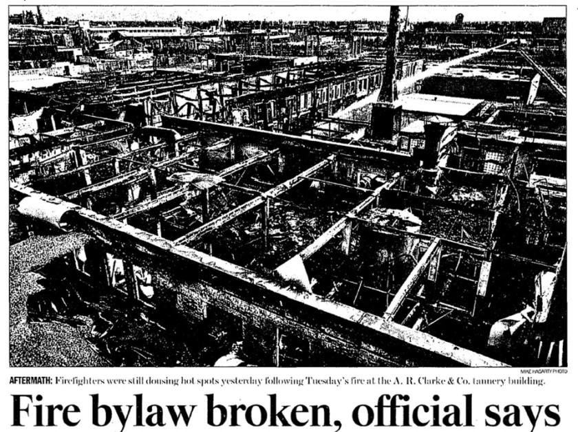 23 Toronto Star, March 29, 2001 photo