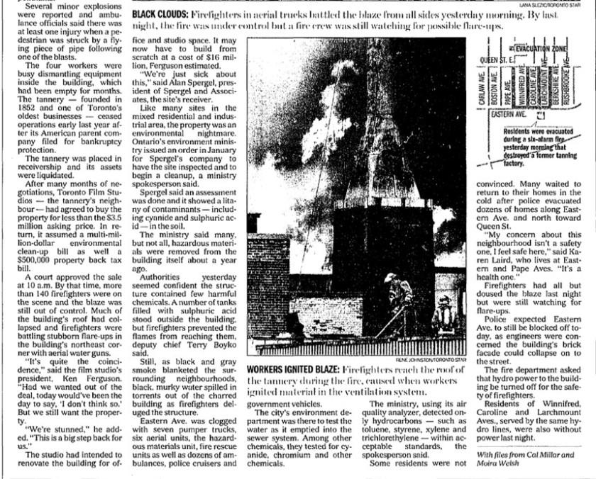 26 Toronto Star, June 28, 2001 text