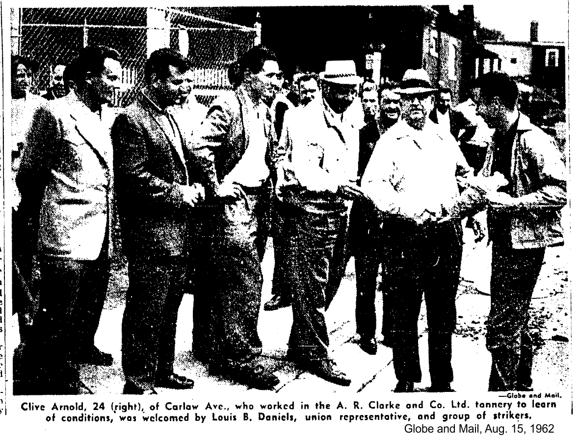 Globe and Mail, Aug. 15, 1962 photo