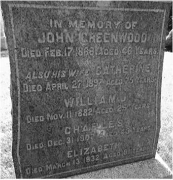 John Greenwood Grave
