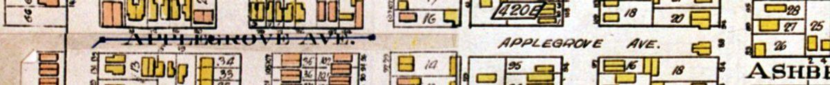 1924 Goad's Atlas close up