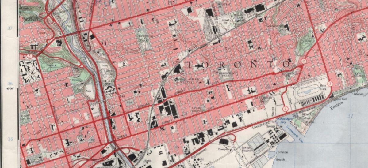 19340000 Dominion of Canada topographical map