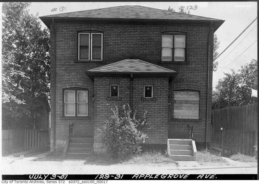 19510703 TARCH 129-131 Applegrove Avenue, July 3, 1951