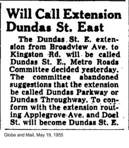 19550519 GM Will Call Extension Dundas St E