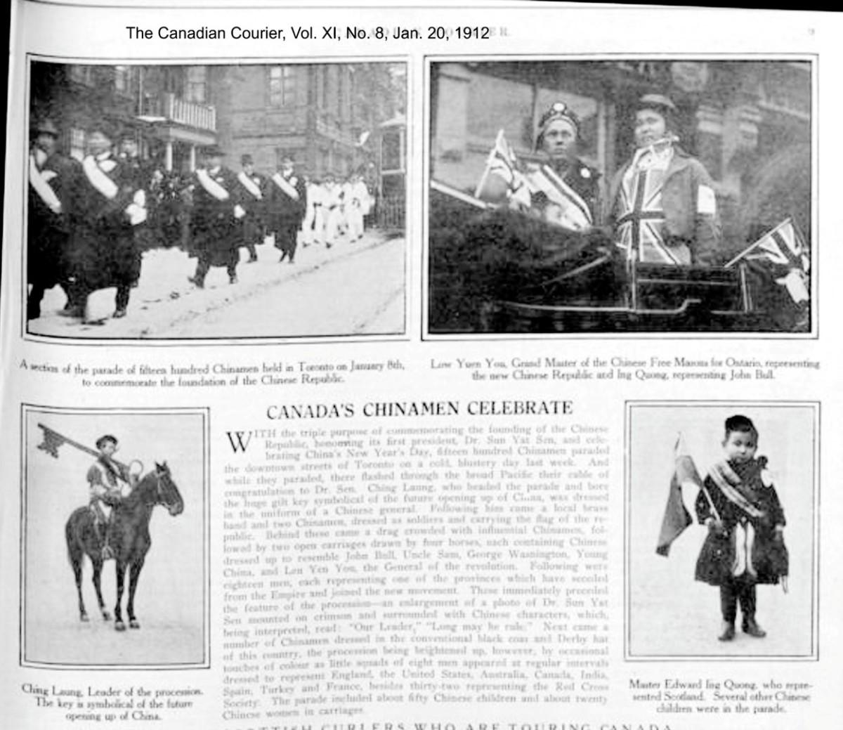 Canadian Courier, Vol. XI, No. 8, Jan. 20, 1912