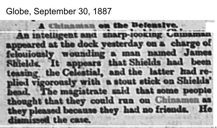 Globe, Sept. 30, 1887