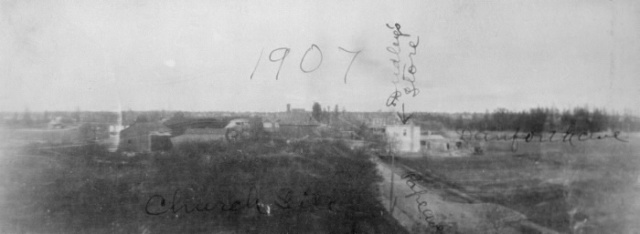 pictures-r-1385 Pape looking n to Danforth 1907 - Copy