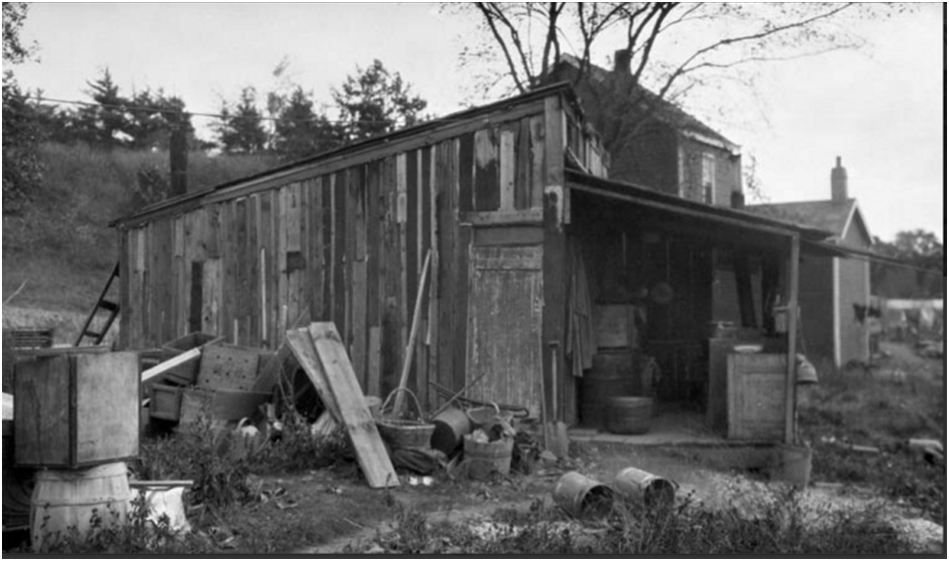 Residence of a Chinese Gardener in Lambton, Oct. 10, 1922, Library and Archives Canada