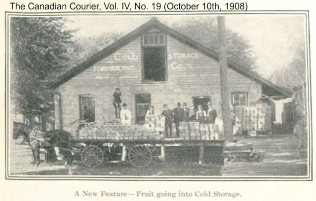 The Canadian Courier, Vol. IV, No. 19 (Oct 10, 1908) Cold storage