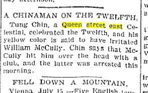 Toronto Star, July 15, 1895