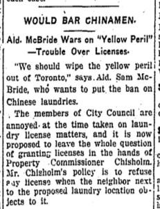 Toronto Star, June 15, 1915