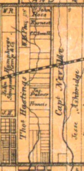 1860 Tremaine's Map