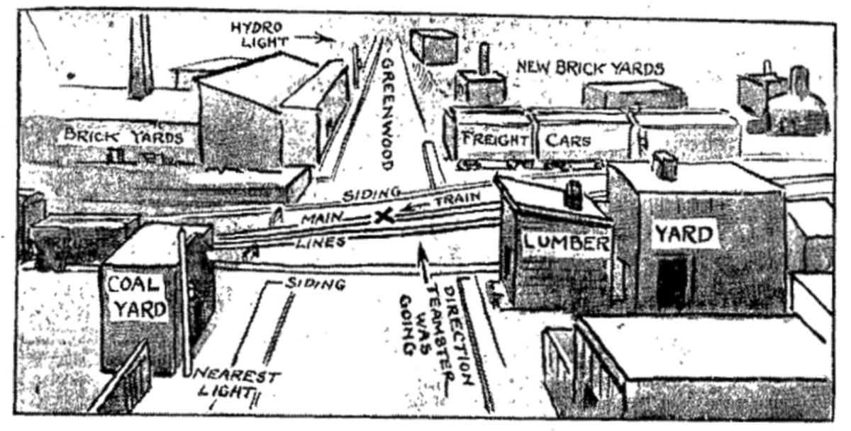 19121105 TS Death Greenwood Crossing drawing