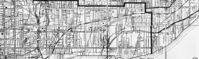 19160000 CH MacDonald Map The Old East End