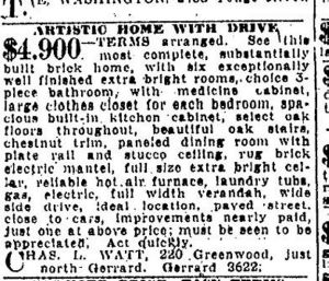 19240616 Toronto Star, June 16, 1924 Artistic house