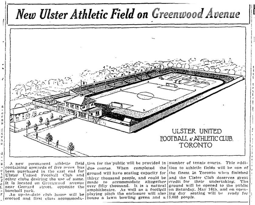 19250504TS Architect drawing Ulster Arms and Stadium - Copy