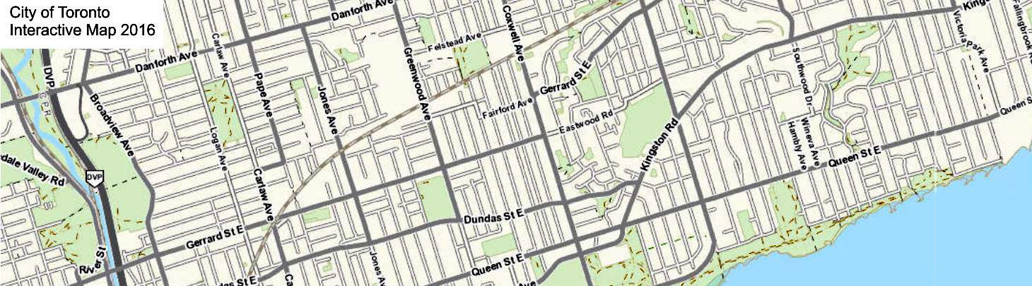 2016 City of Toronto Interactive Map