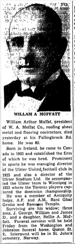 Managing Director Toronto Star, May 12, 1948 - Copy