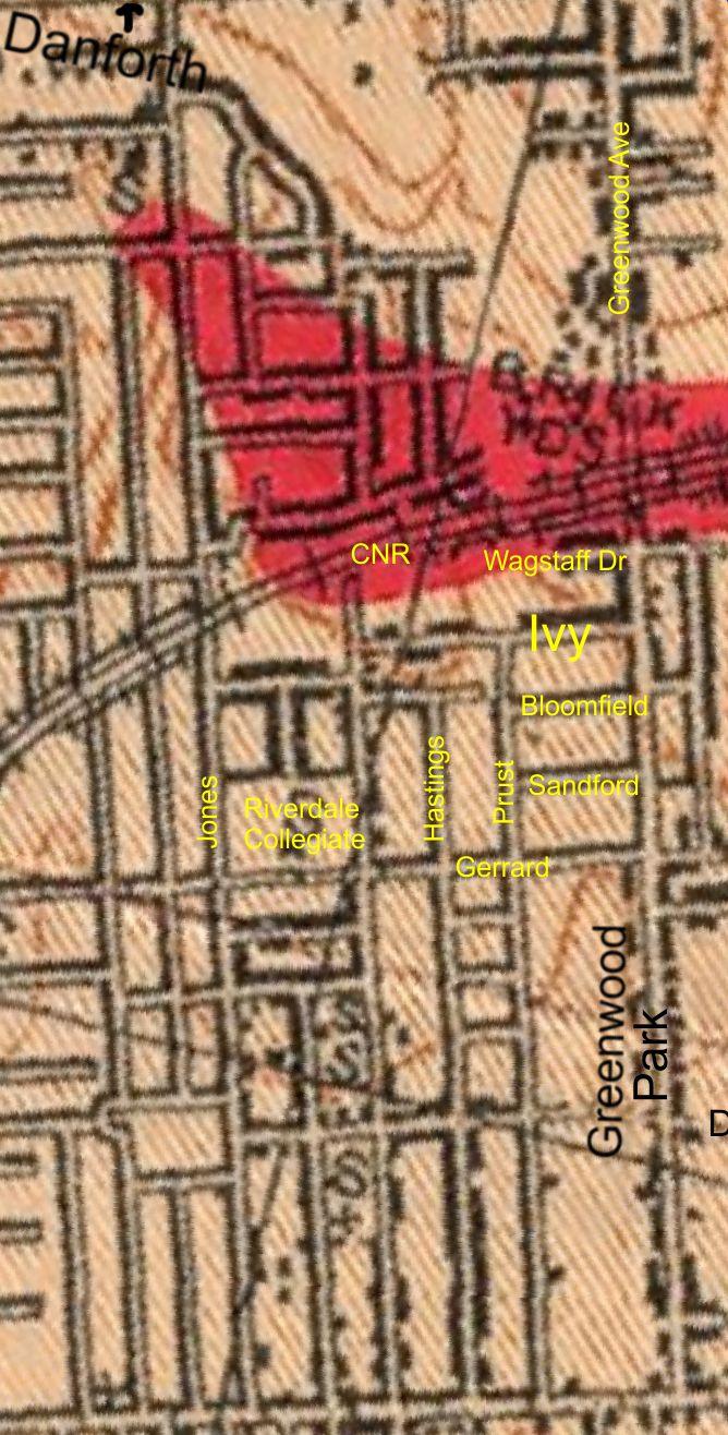 Map Geology Riverdale Gdns