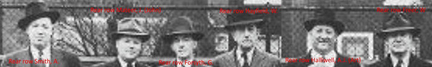 Rear row a