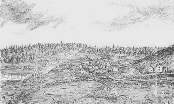 Sketch of early Haliburton