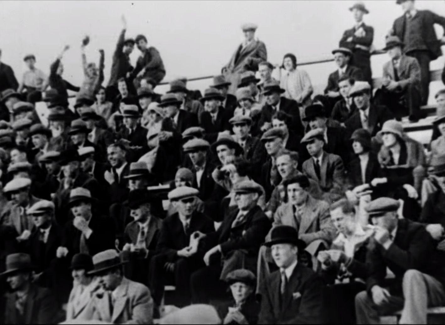 Spectators bleachers