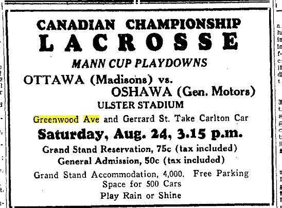 Toronto Star, Aug 23, 1929