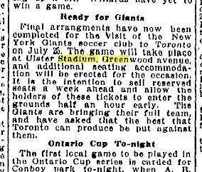 Toronto Star, July 13, 1925