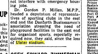 Toronto Star, November 1, 1945