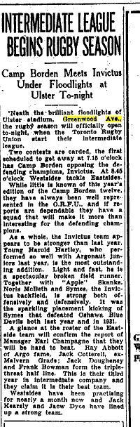 Toronto Star, Oct. 4, 1933