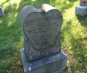 Wagstaff tombstone