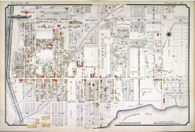Plate 47, Atlas of the City of Toronto and Vicinity, March 1890.Chas. Goad. March 1890 Credit Library and Archives Canada Copyright: Expired