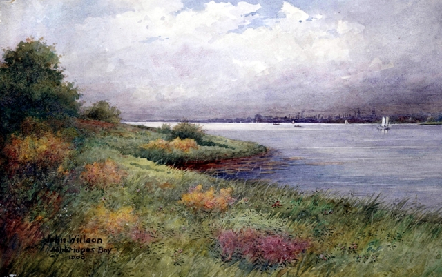 Ashbridges Bay John Willson 1900