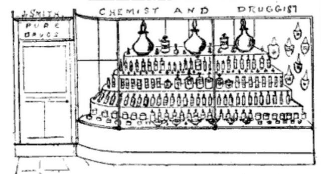 Drug store window 1892.jpg