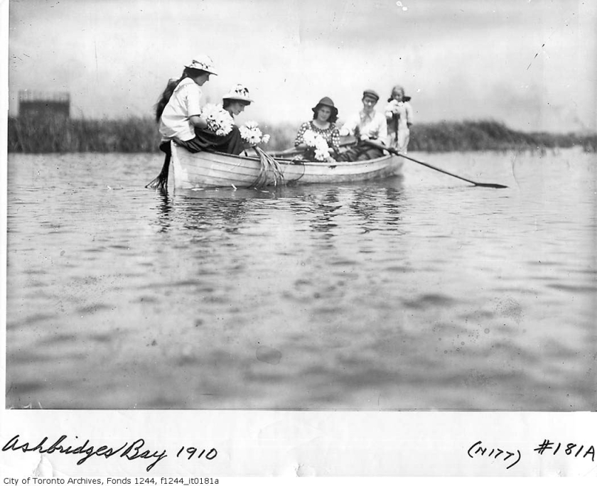 Girls on Ashbridges Bay