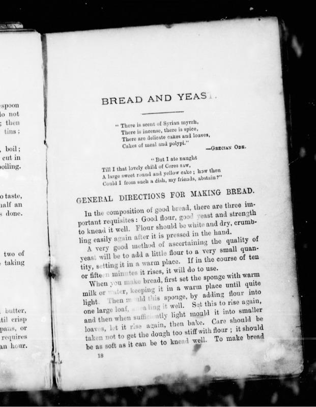 Home Cook Book bread