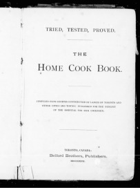 The Home Cook Book, 1877.