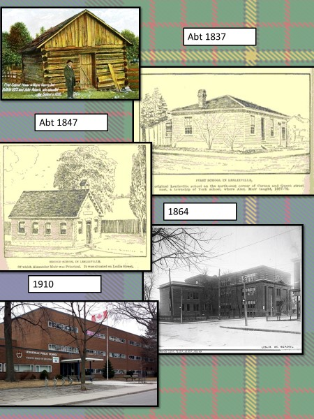 Leslie Street School through time